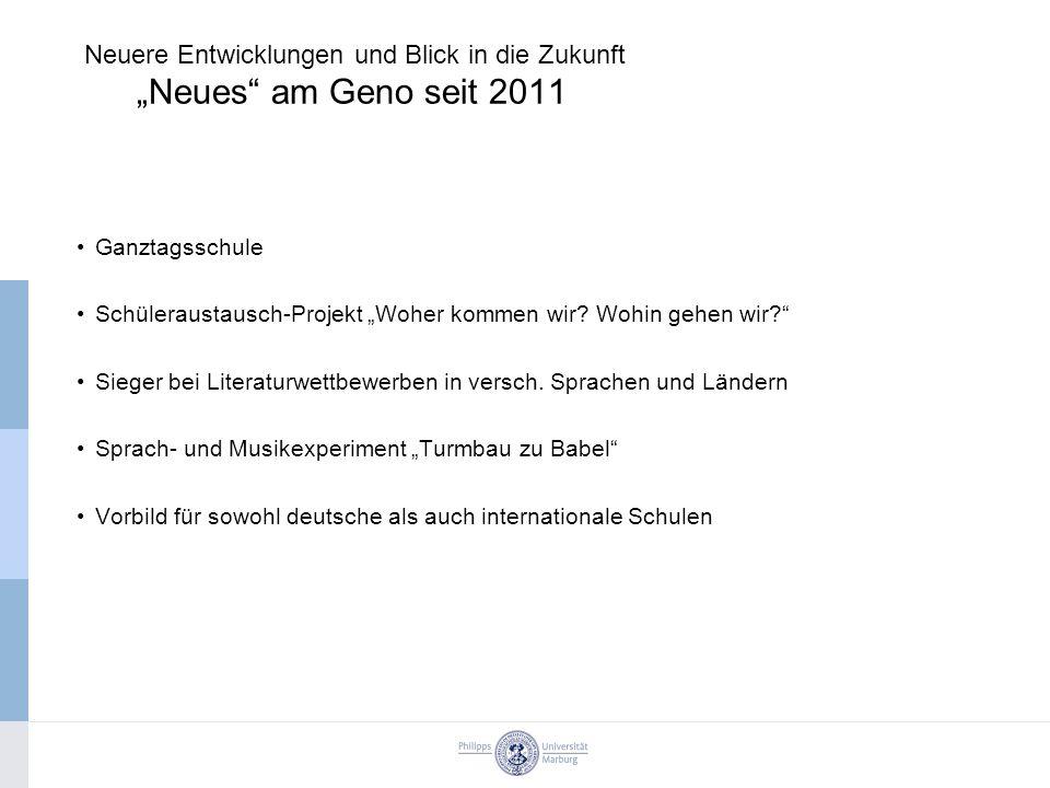 "Ganztagsschule Schüleraustausch-Projekt ""Woher kommen wir."