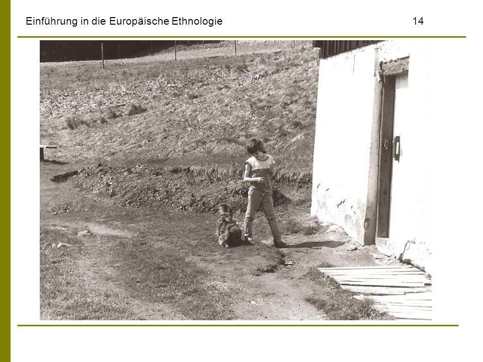 Einführung in die Europäische Ethnologie14