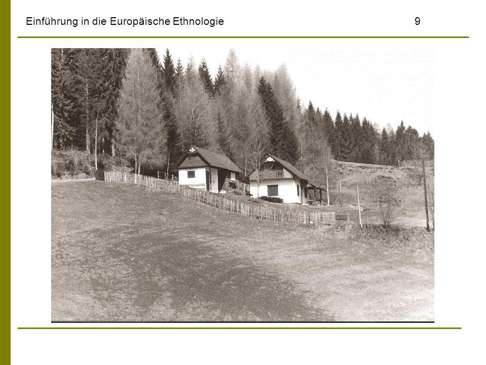 Einführung in die Europäische Ethnologie9