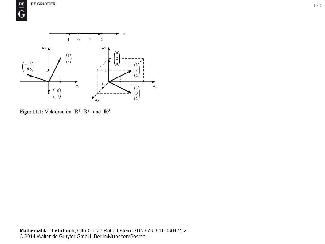 Mathematik ‒ Lehrbuch, Otto Opitz / Robert Klein ISBN 978-3-11-036471-2 © 2014 Walter de Gruyter GmbH, Berlin/Mu ̈ nchen/Boston 130