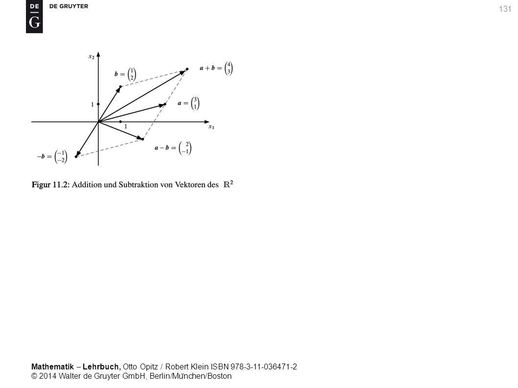 Mathematik ‒ Lehrbuch, Otto Opitz / Robert Klein ISBN 978-3-11-036471-2 © 2014 Walter de Gruyter GmbH, Berlin/Mu ̈ nchen/Boston 131
