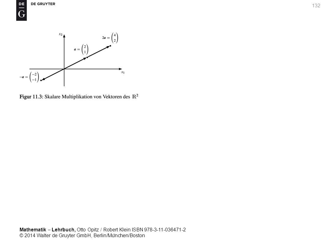 Mathematik ‒ Lehrbuch, Otto Opitz / Robert Klein ISBN 978-3-11-036471-2 © 2014 Walter de Gruyter GmbH, Berlin/Mu ̈ nchen/Boston 132