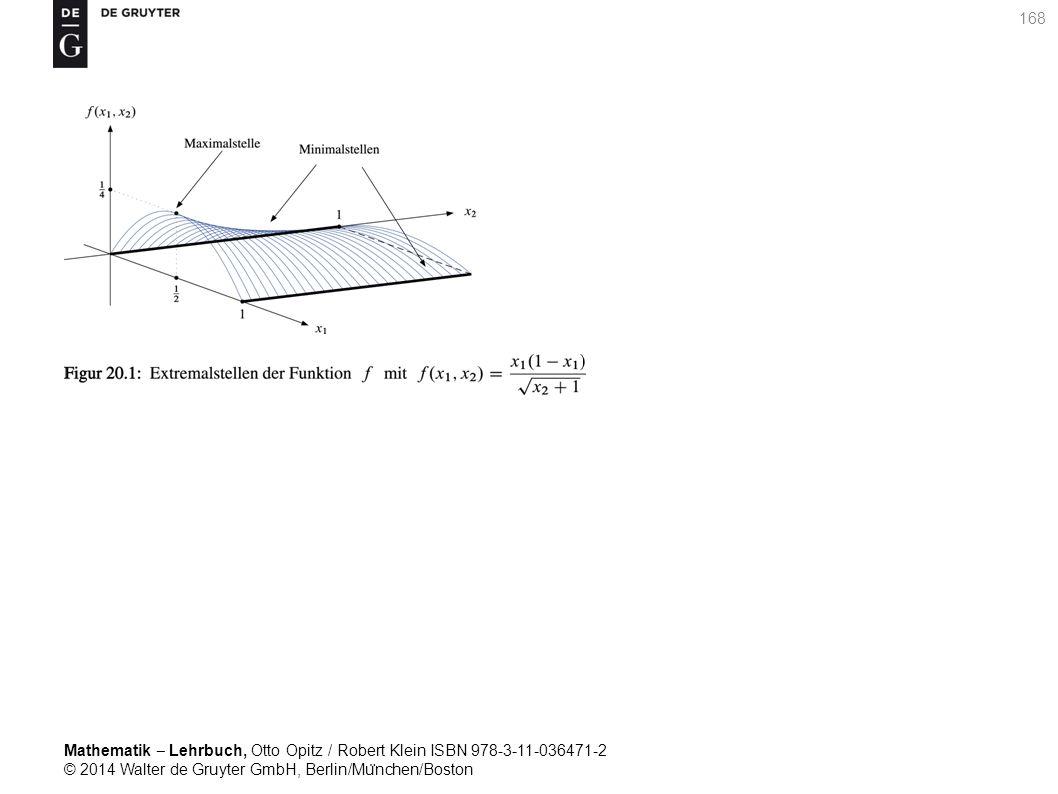 Mathematik ‒ Lehrbuch, Otto Opitz / Robert Klein ISBN 978-3-11-036471-2 © 2014 Walter de Gruyter GmbH, Berlin/Mu ̈ nchen/Boston 168