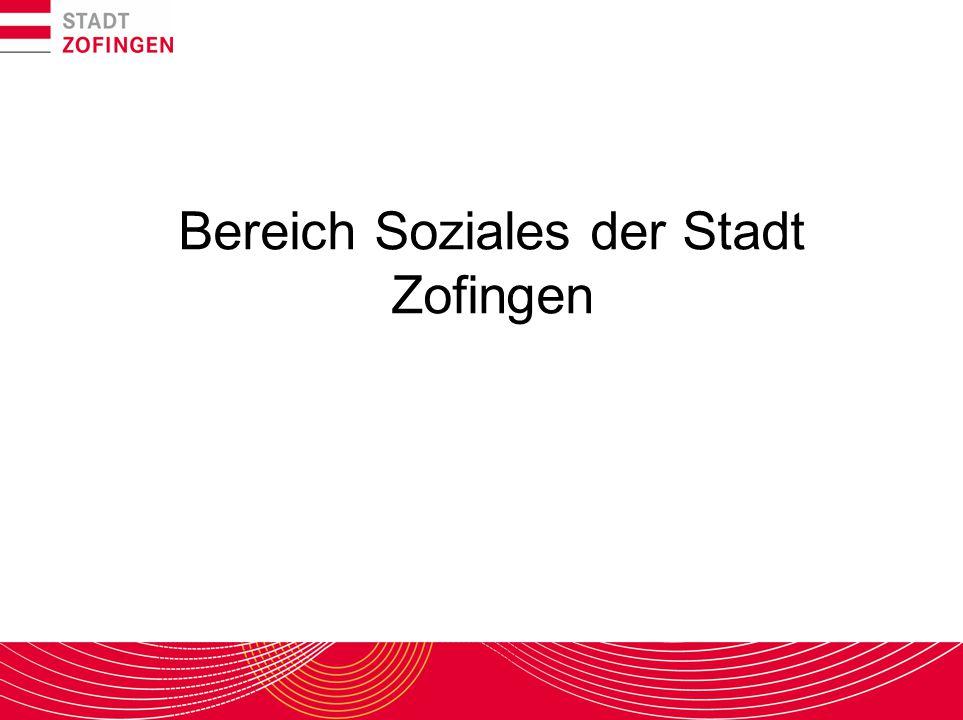 Bereich Soziales der Stadt Zofingen