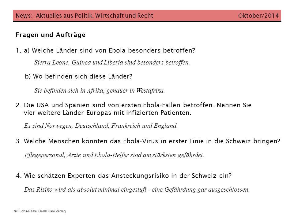 News: Aktuelles aus Politik, Wirtschaft und Recht Oktober/2014 5.