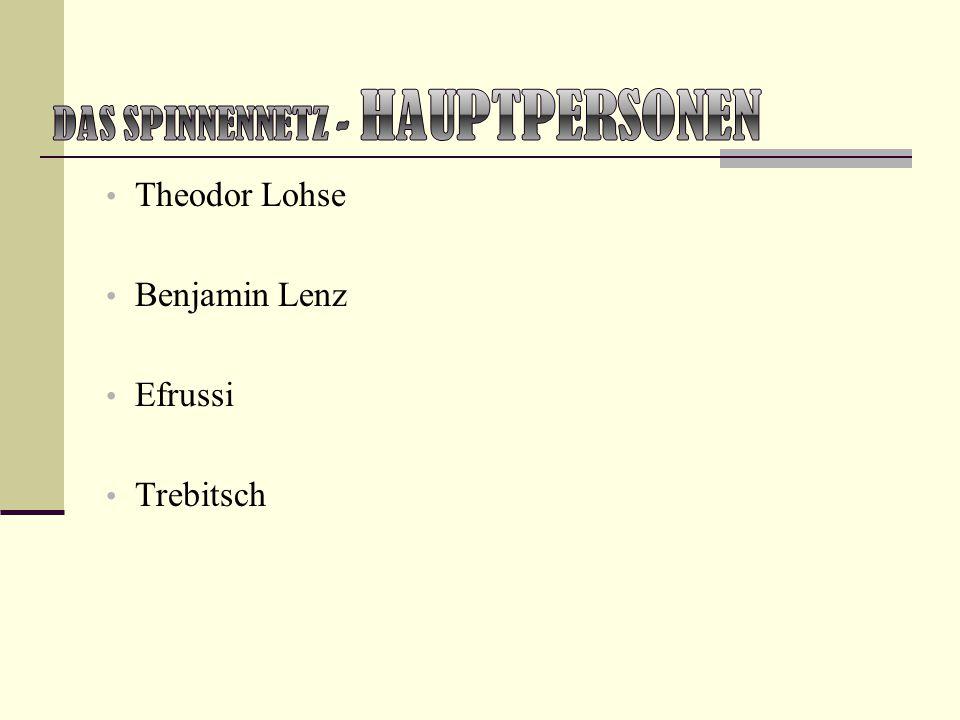 Theodor Lohse Benjamin Lenz Efrussi Trebitsch