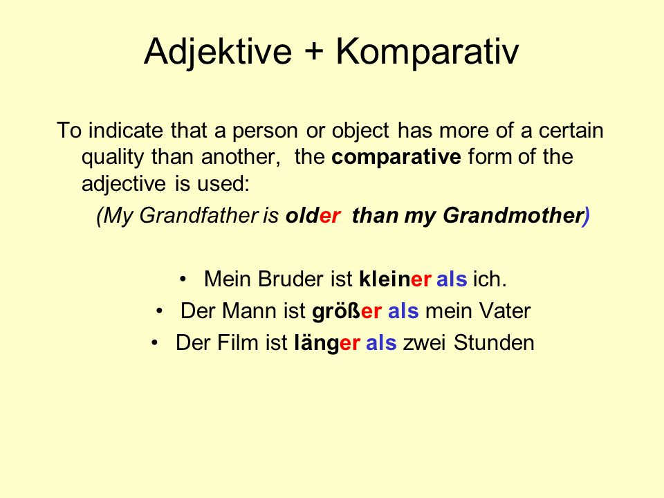 HOMEWORK do ALL on-line Homework exercises do exercise 5 (page 6) in your German material