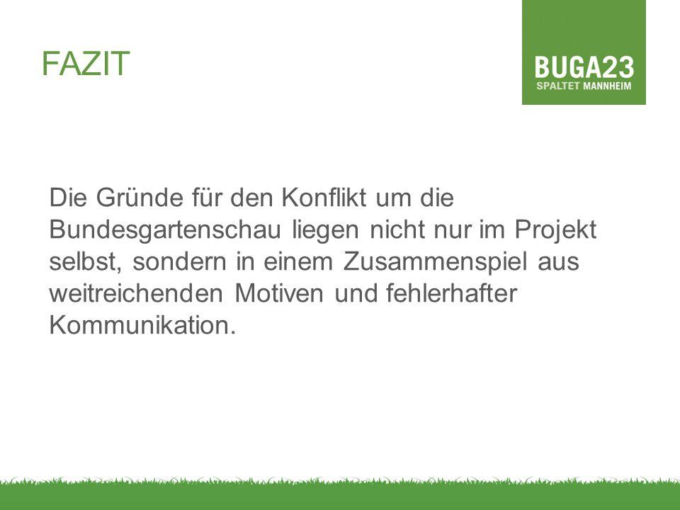 Die Gründe für den Konflikt um die Bundesgartenschau liegen nicht nur im Projekt selbst, sondern in einem Zusammenspiel aus weitreichenden Motiven und