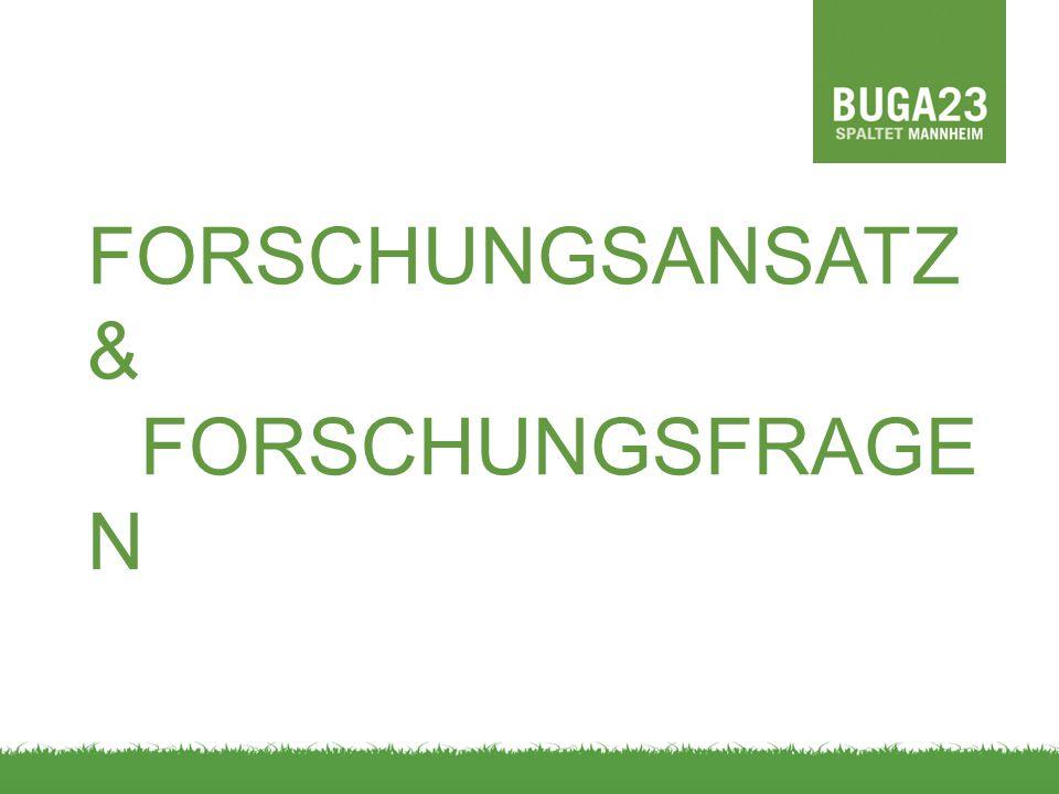 FORSCHUNGSANSATZ & FORSCHUNGSFRAGE N