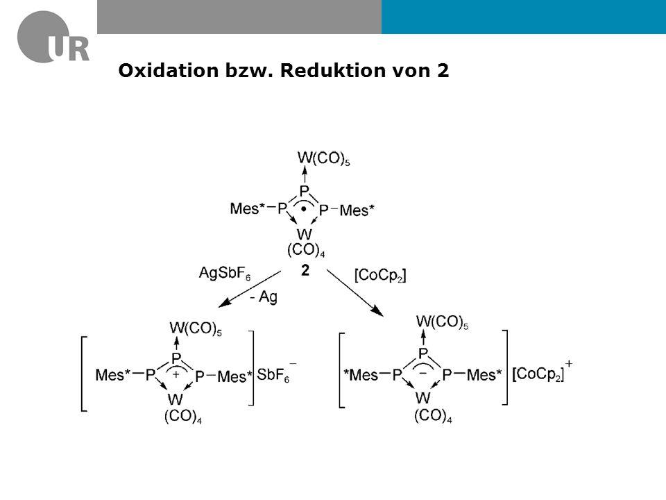 Elektrochemische Reduktion von 2 IR-Spektrum (nur ν (CO) Bereich)