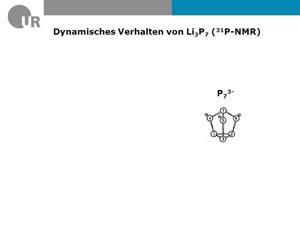31 P-NMR von (Me 3 Sn) 3 P 7