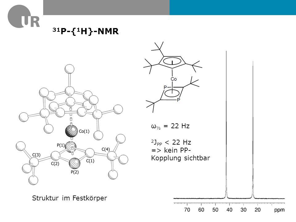 13 C{ 1 H}-NMR 1 J PC = 53.2 Hz 2 J PC = 8.3 Hz 3 J PC = 4.9 Hz