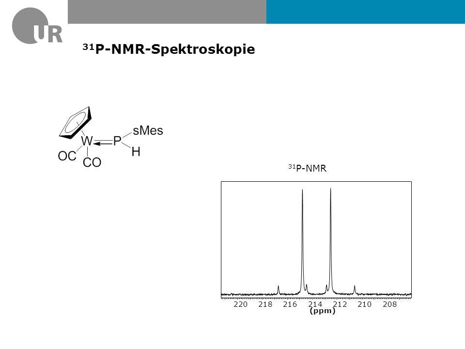 31 P-NMR von (CO) 5 WPH 3