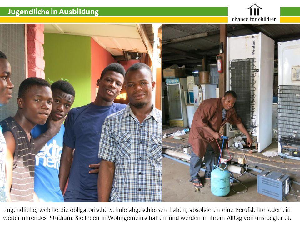 Jugendliche in Ausbildung Jugendliche, welche die obligatorische Schule abgeschlossen haben, absolvieren eine Berufslehre oder ein weiterführendes Studium.