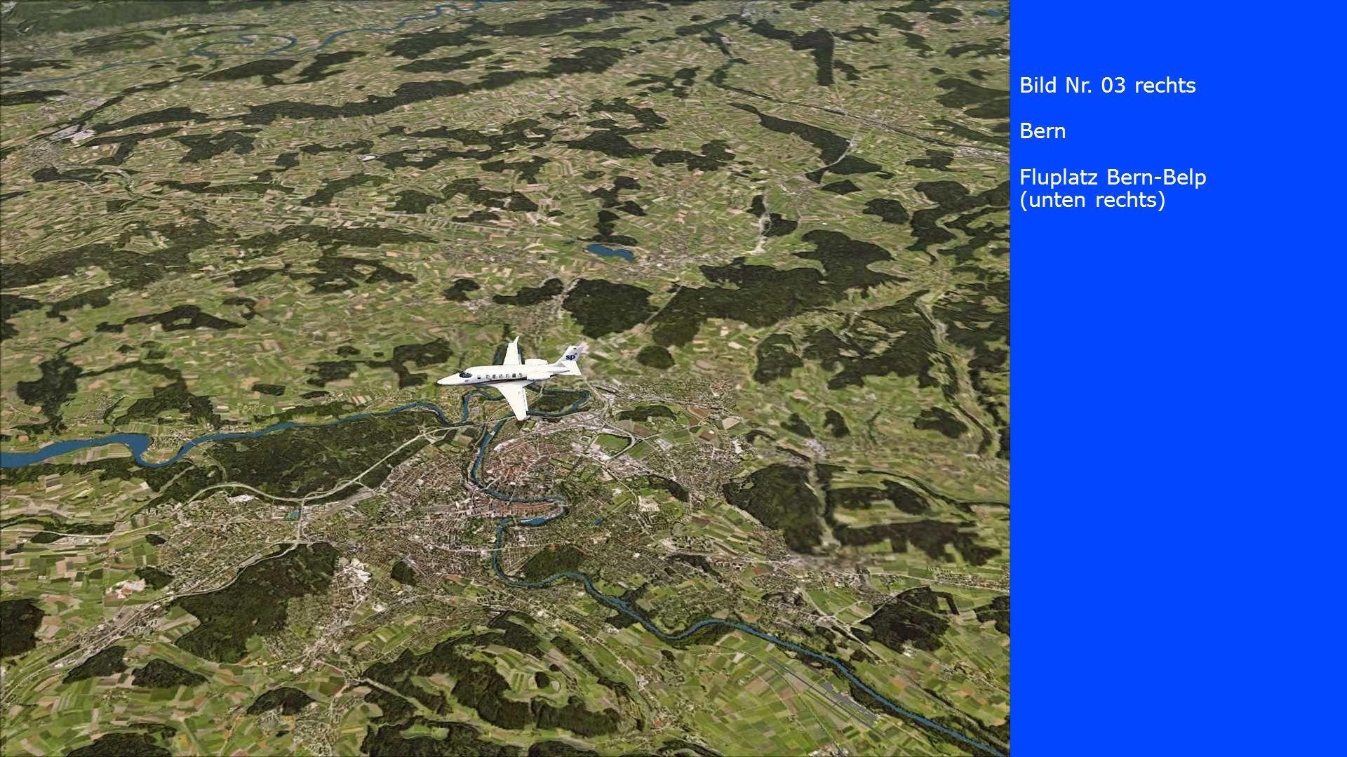 Bild Nr. 03 rechts Bern Fluplatz Bern-Belp (unten rechts)