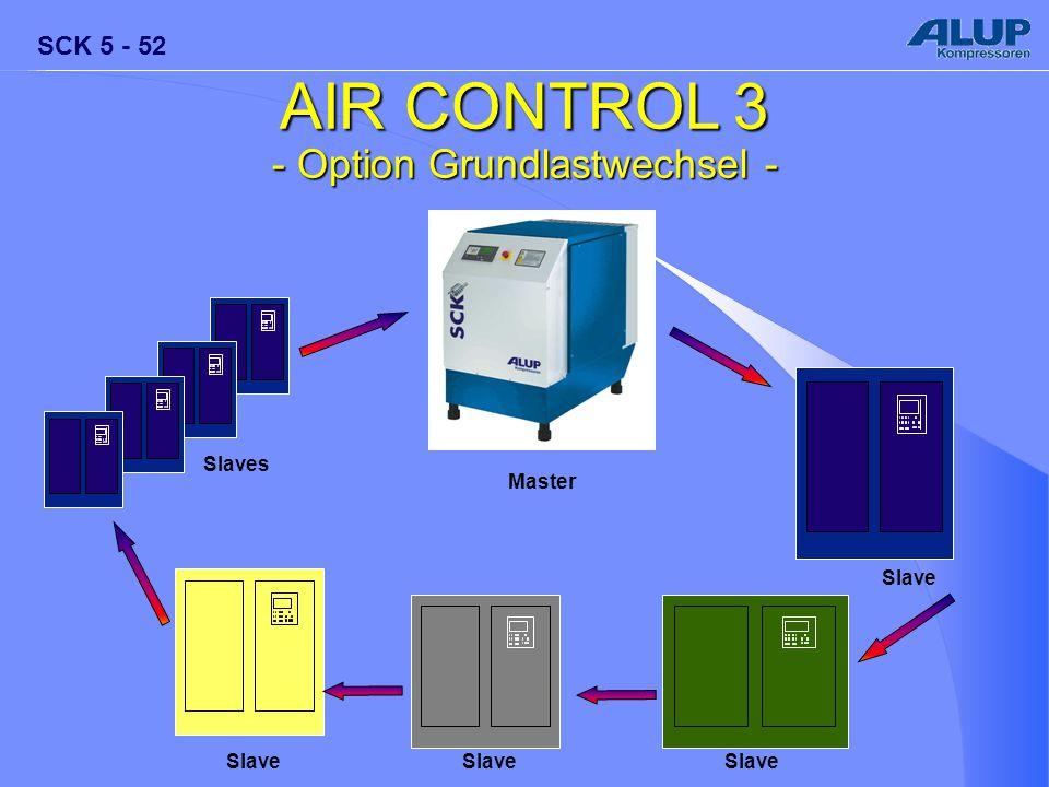 SCK 5 - 52 AIR CONTROL 3 - Option Grundlastwechsel - Master Slave Slaves