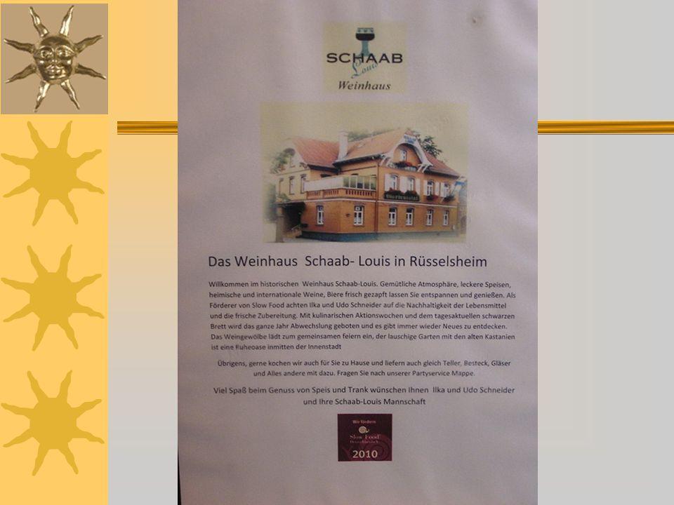 """Wie die Gruppe auf einmal so schnell laufen kann, das Lokal Weinhaus """"Schaab-Louis"""" ist nicht mehr weit !"""