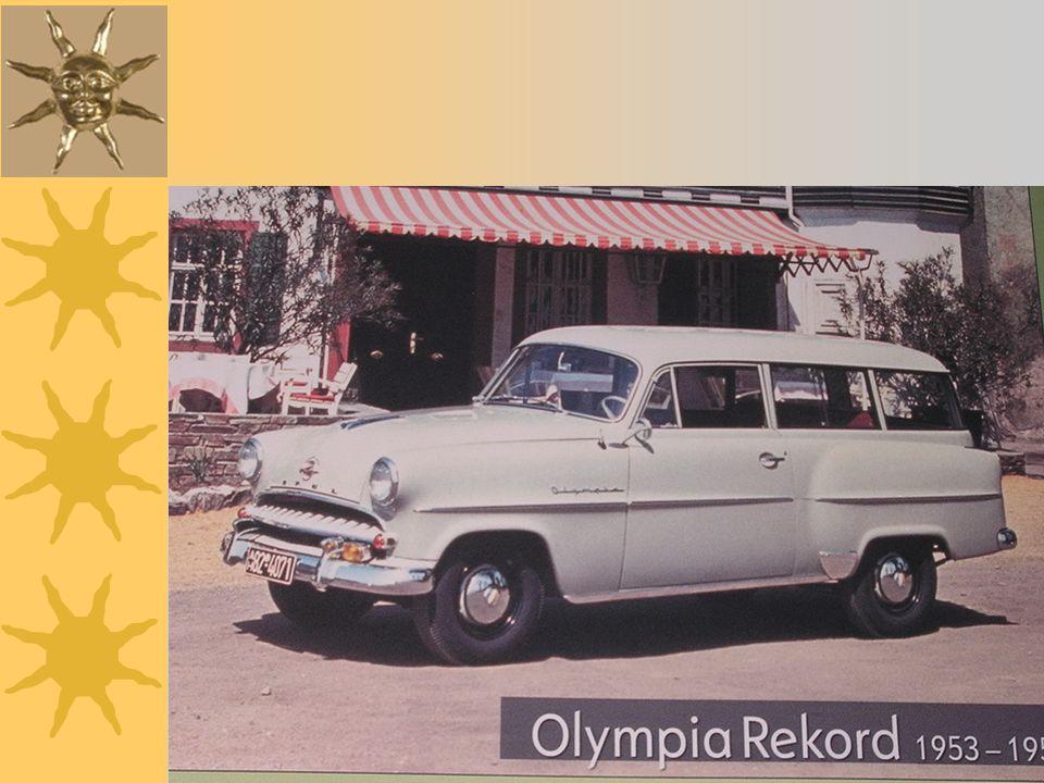 Opel Rekord Schnell-Lieferwagen