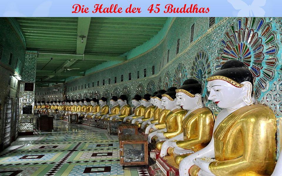 Die Halle der 45 Buddhas