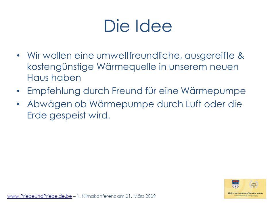 Die Technik 1 www.PriebeUndPriebe.de.bewww.PriebeUndPriebe.de.be – 1.