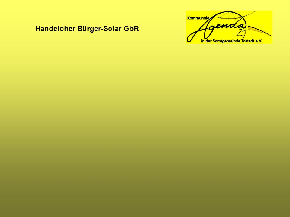 Handeloher Bürger-Solar GbR