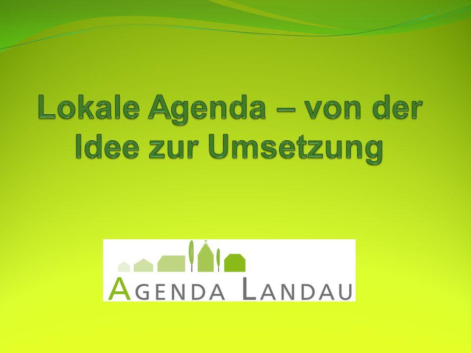 Was ist die lokale Agenda.