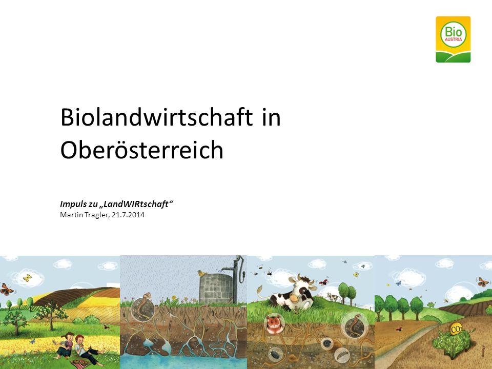 """Biolandwirtschaft in Oberösterreich Impuls zu """"LandWIRtschaft"""" Martin Tragler, 21.7.2014"""