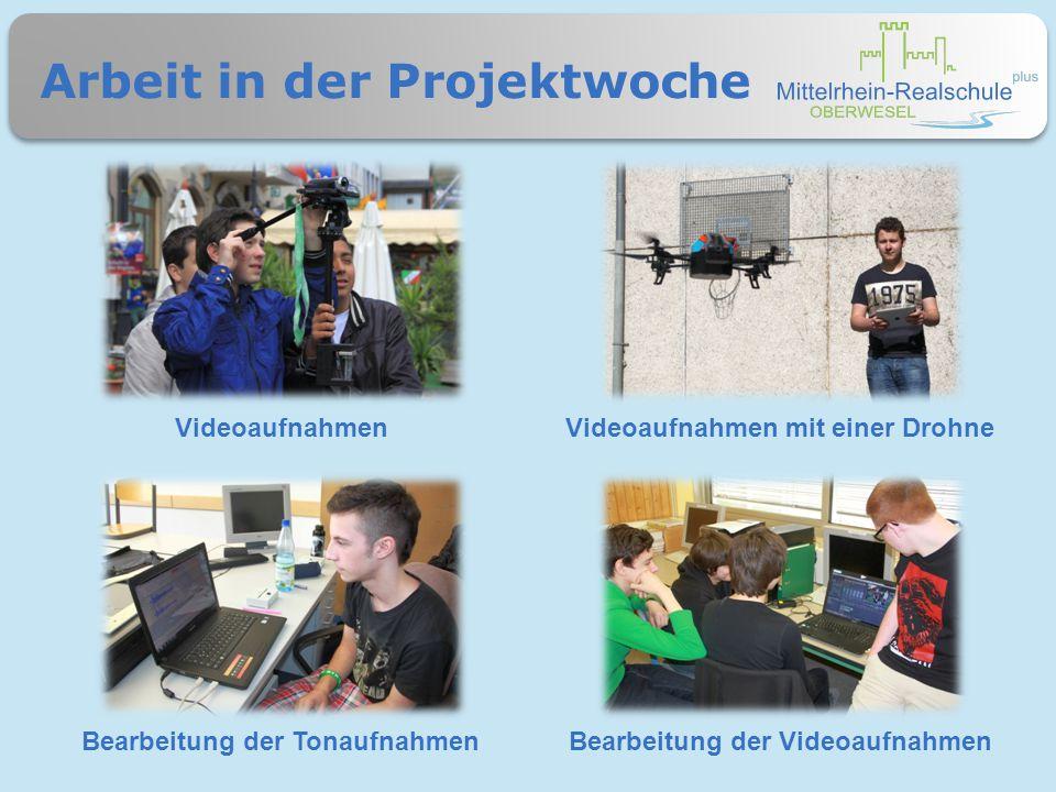 Technisches Equipment TonaufnahmeequipmentSoftware zum Tonschnitt FlugdrohneSoftware zur Videobearbeitung