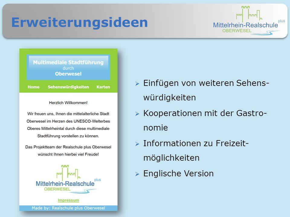 www.guide.rs-oberwesel.de Schauen Sie rein…  Diese Informationen finden Sie auch auf unserem Flyer.