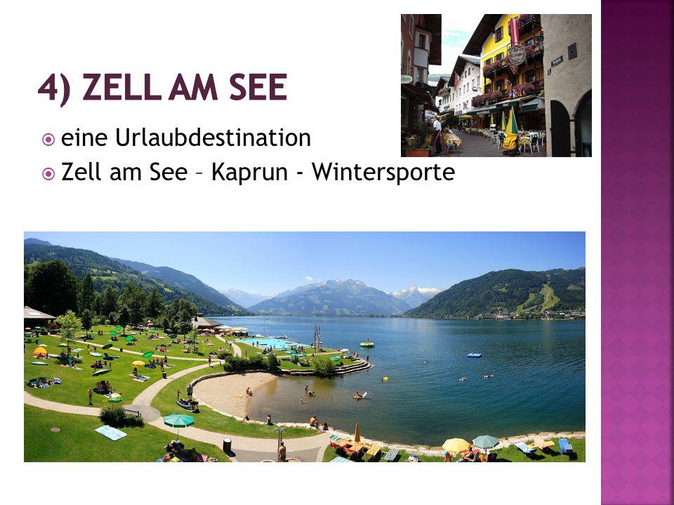  eine Urlaubdestination  Zell am See – Kaprun - Wintersporte
