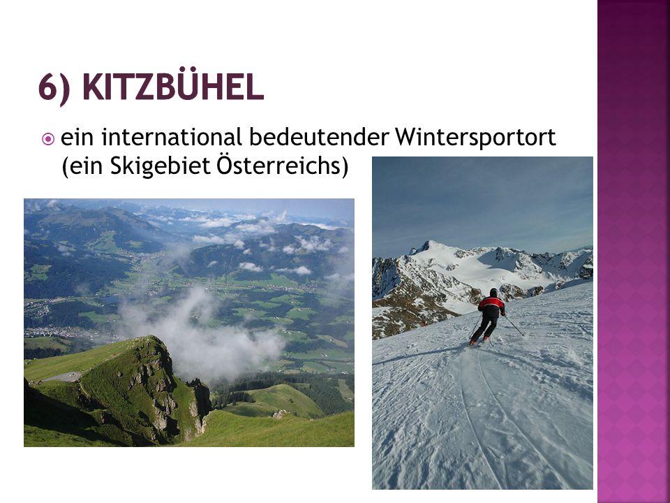  ein international bedeutender Wintersportort (ein Skigebiet Österreichs)