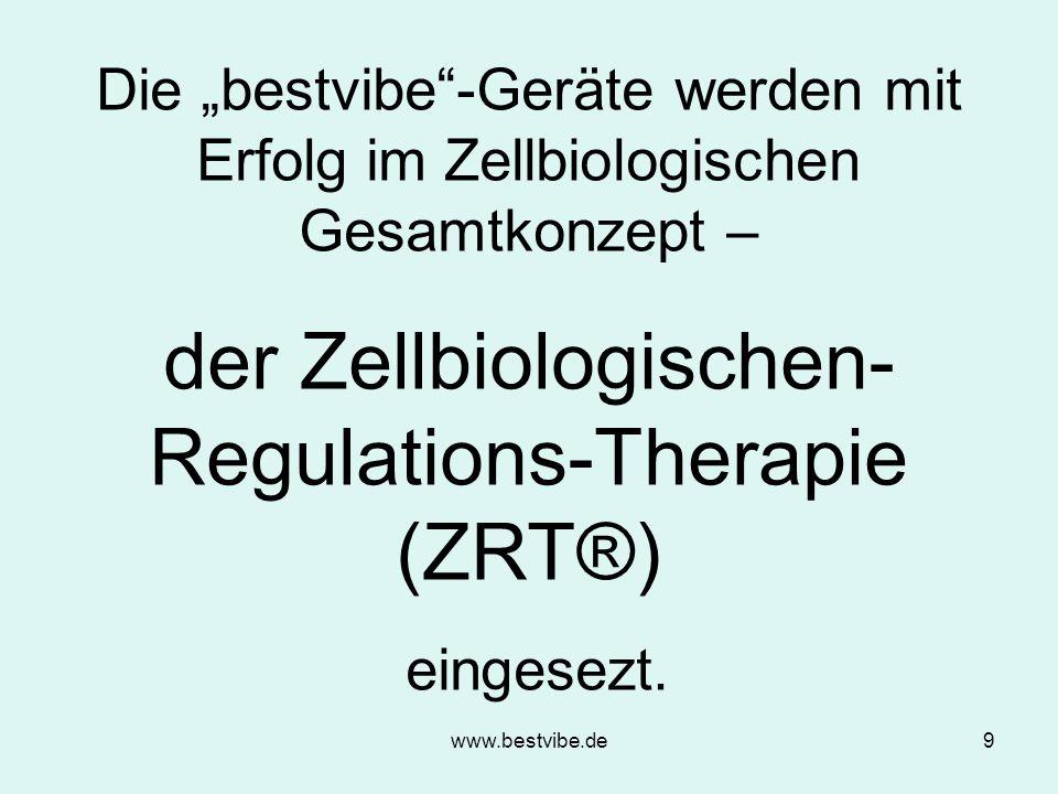 www.bestvibe.de8 Die biomechanische Stimulation (BMS) Die biomechanische Stimulation (BMS) Muskulär-/ Neuromuskulä r-System Muskulär-/ Neuromuskulä r-System Zentrales Nervensystem -System Skelett- System Hormonales System Blutgefäß-/ Lymph-System Blutgefäß-/ Lymph-System Intra- und extrazelluläre Zelloptimierung Intra- und extrazelluläre Zelloptimierung Stoffwechsel- System Wirkungsweis e von BMS Wirkungsweis e von BMS
