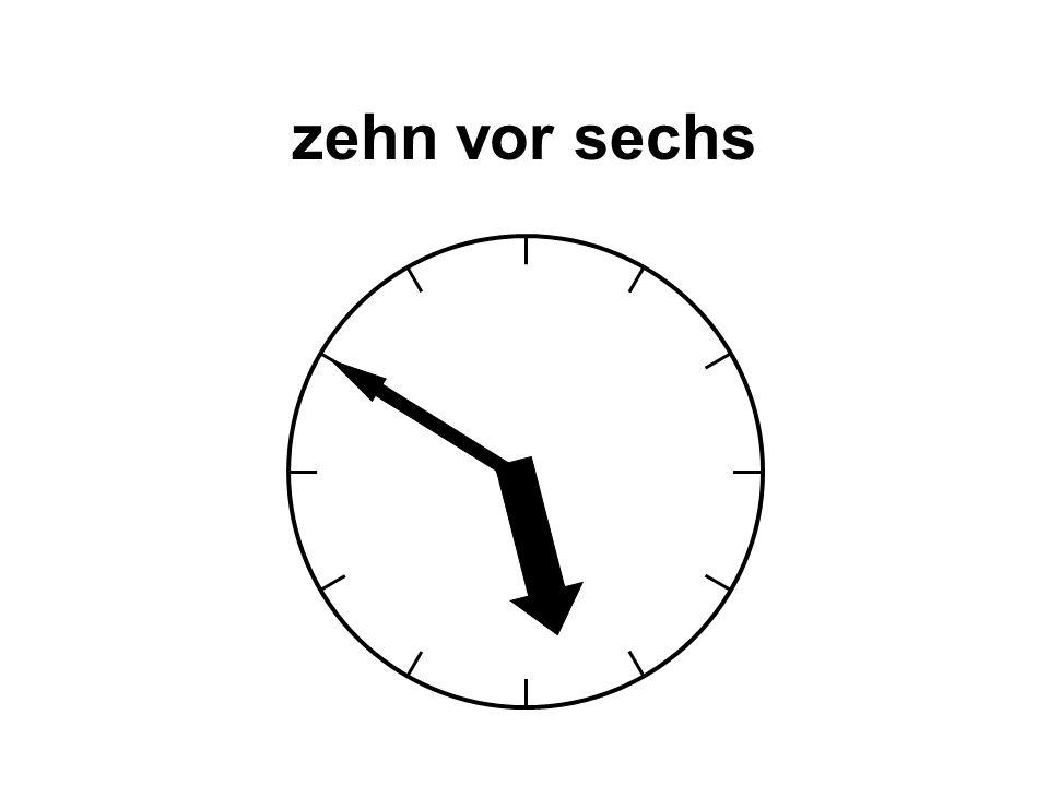 dreizehn Uhr dreiundvierzig 13:43