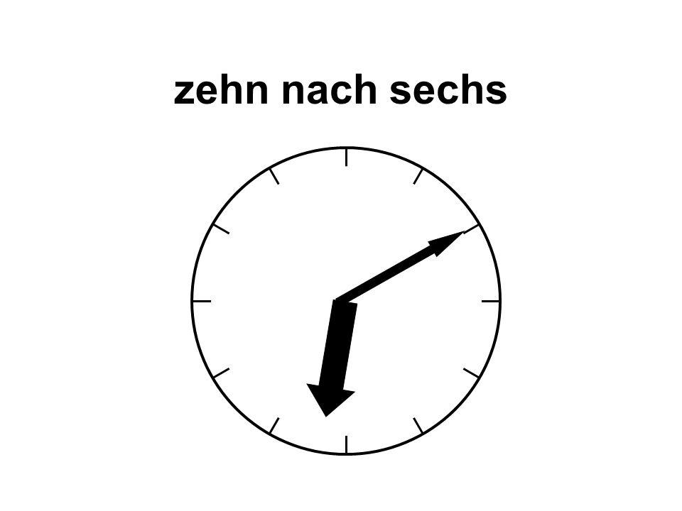 ein Uhr