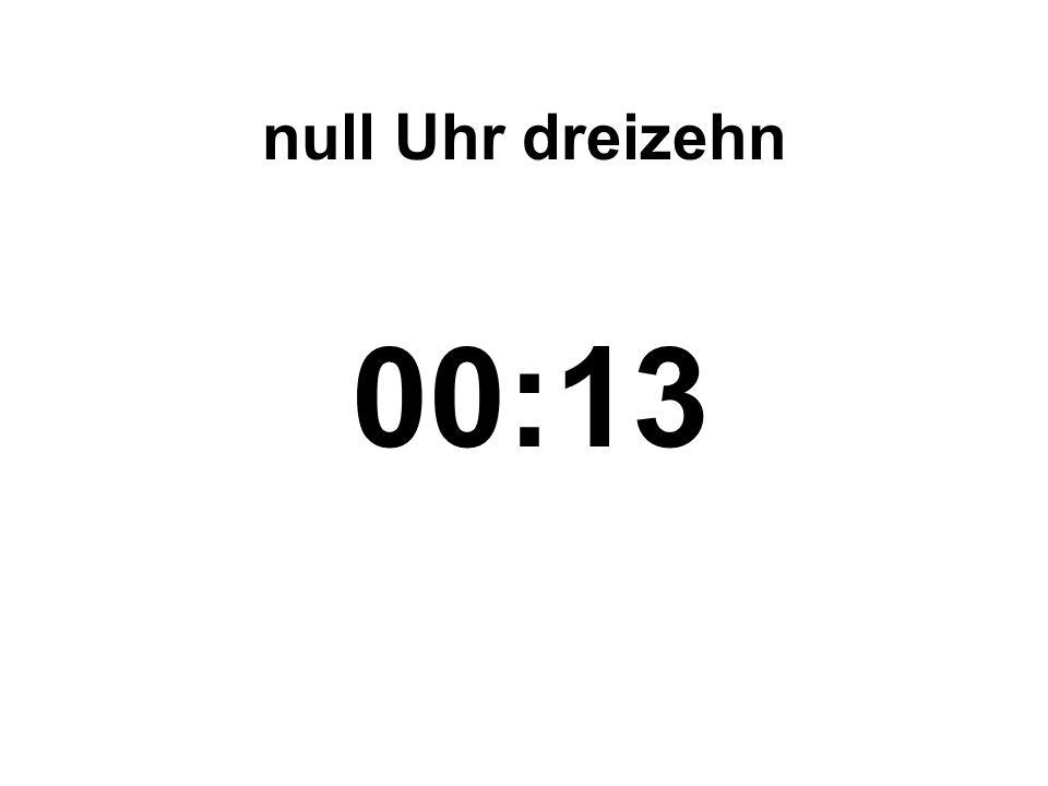 achtzehn Uhr vierundfünfzig 18:54