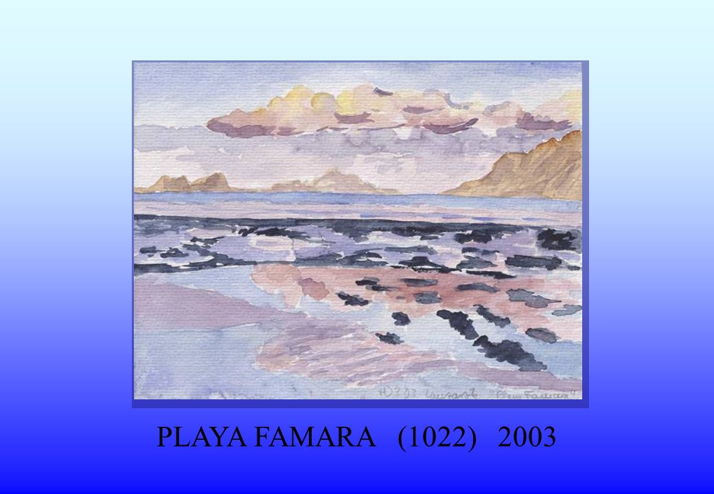 PLAYA FAMARA (1022) 2003