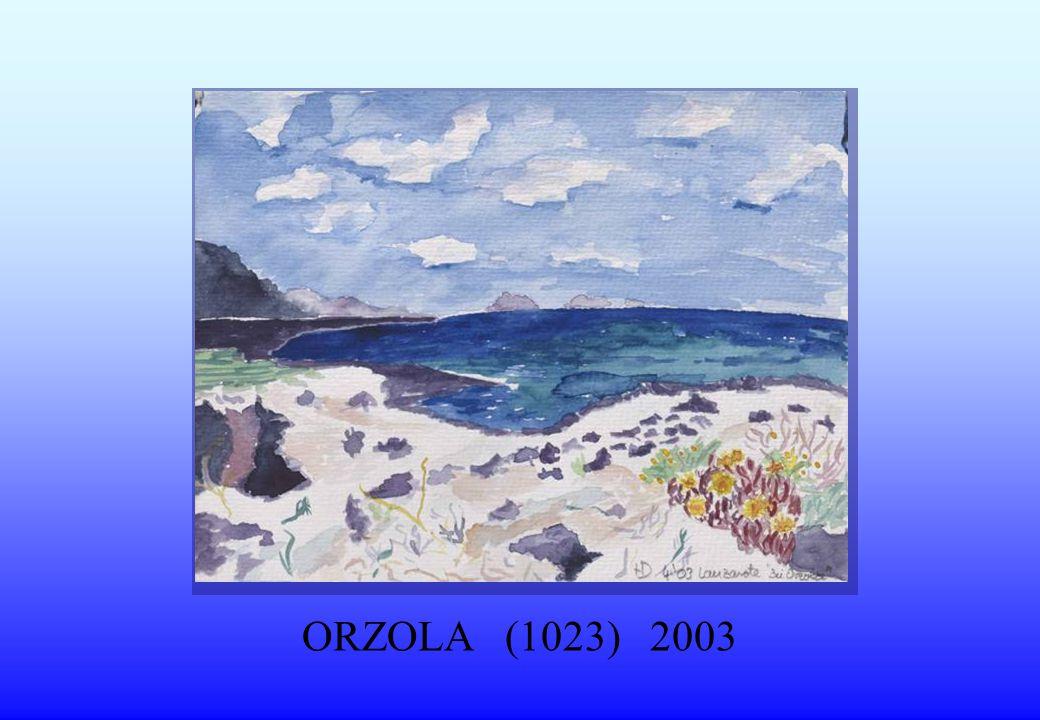 ORZOLA (1023) 2003