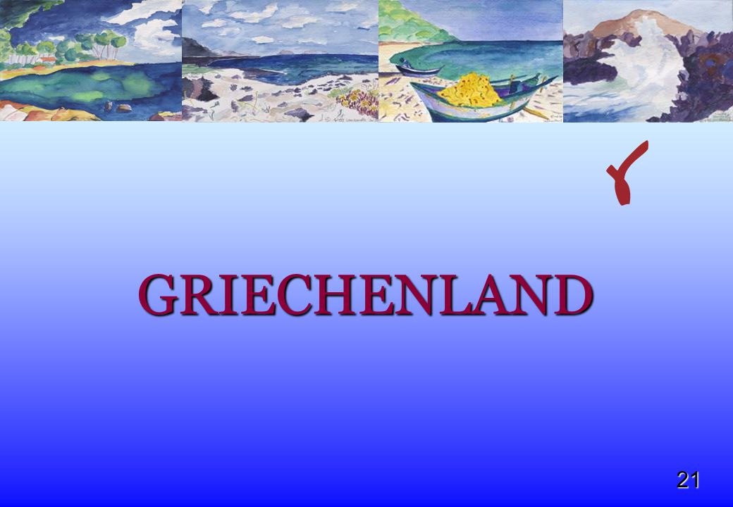21 GRIECHENLAND