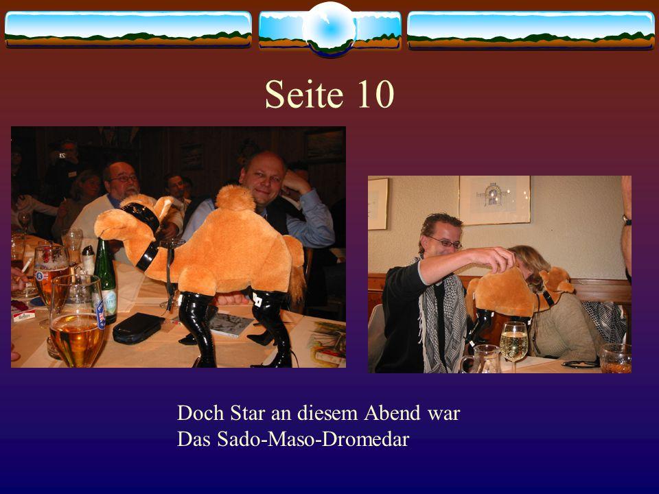 Seite 11 Schnell war vorbei die Fragestunde Zu schnell für manche in der Runde...