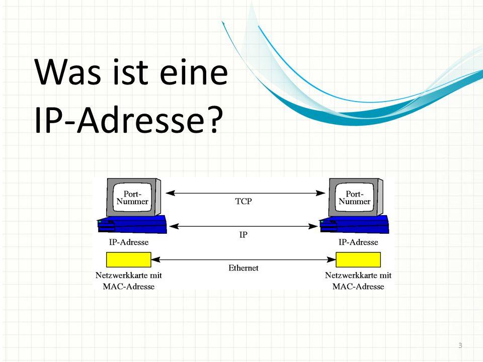 IPv4 und IPv6 14