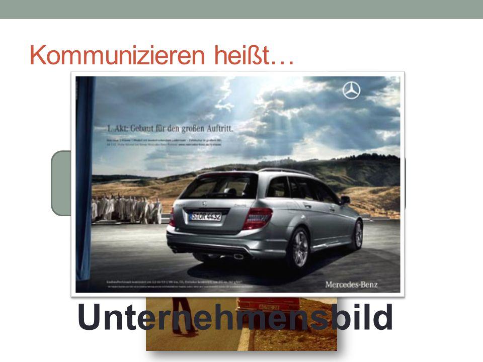 Kommunizieren heißt… SenderEmpfänger Inhalt 1 Image und Erfahrungen Erwartungen Zusatzinfos Unternehmensbild