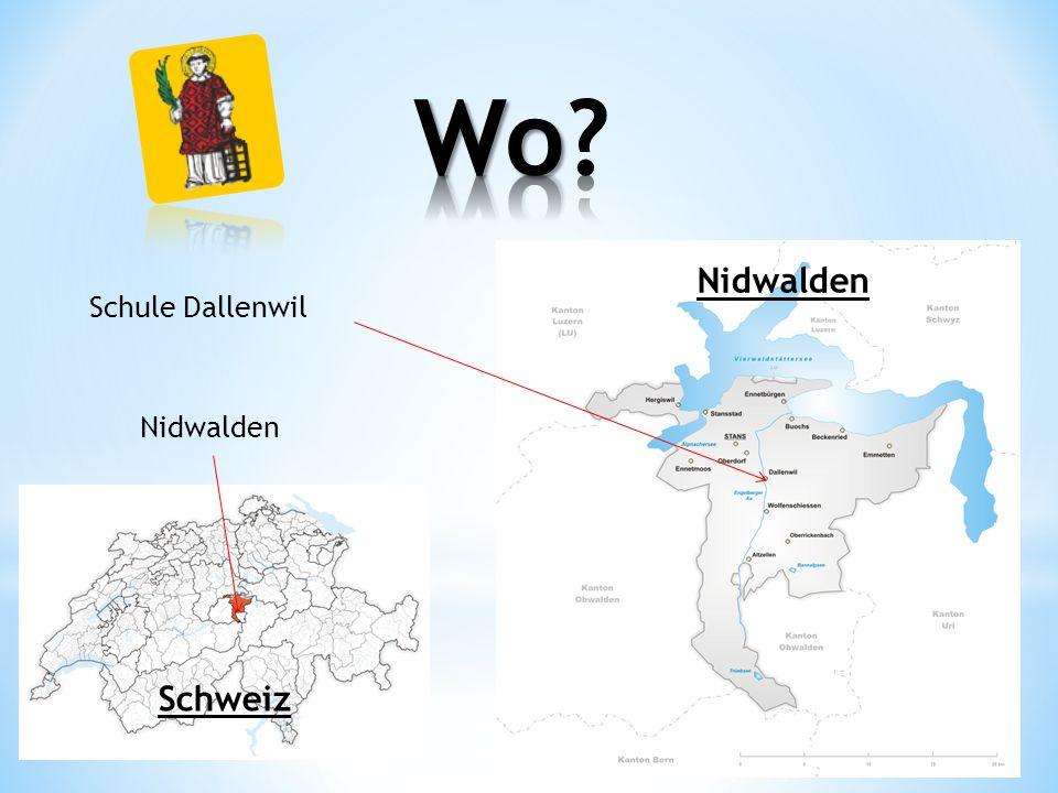 Schule Dallenwil Nidwalden Schweiz Nidwalden