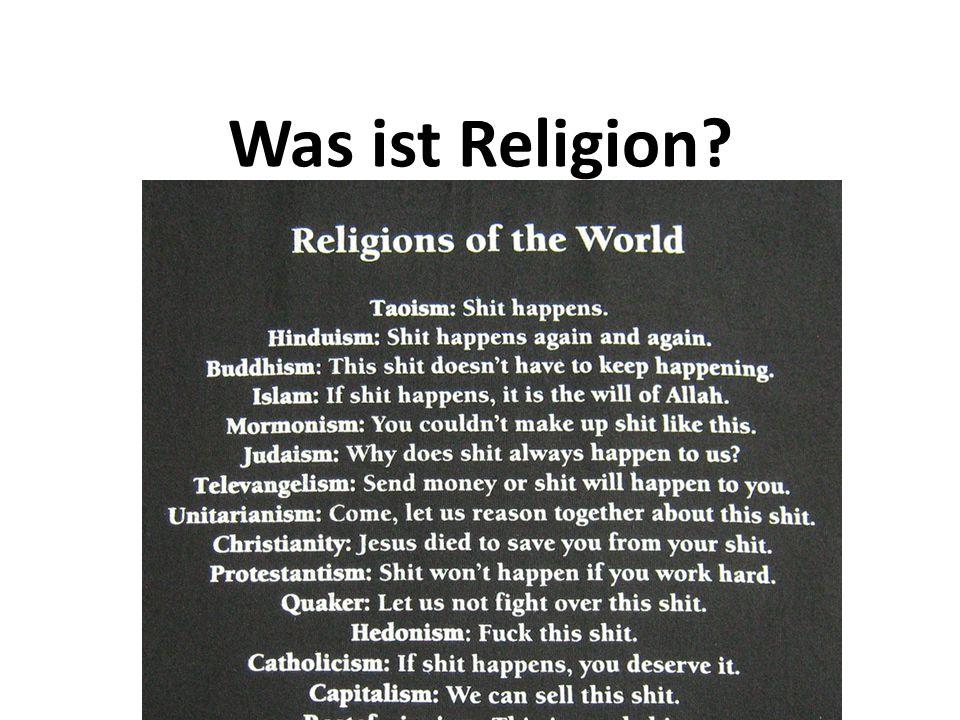 Formen des Umgangs mit der Letzten Wirklichkeit Atheismus (griech.