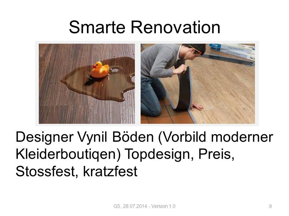Smarte Renovation Designer Vynil Böden (Vorbild moderner Kleiderboutiqen) Topdesign, Preis, Stossfest, kratzfest GS, 28.07.2014 - Version 1.09