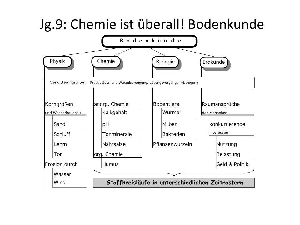 Jg.8: Chemie ist überall.Was ist drin. – Ich will's wissen.