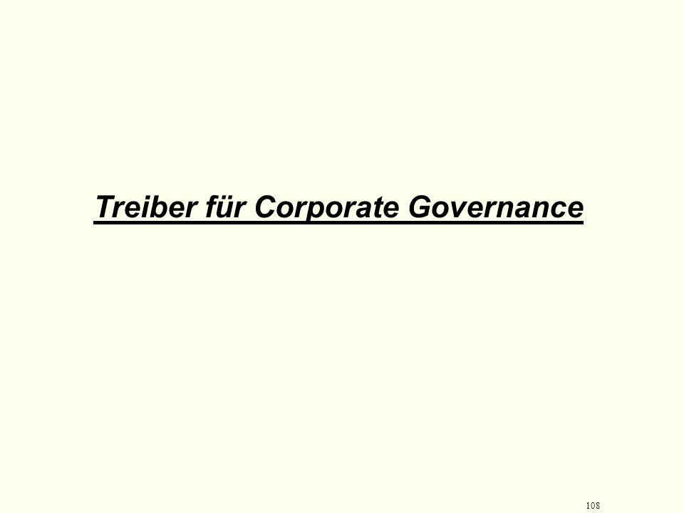 107 Corporate Governance kodifiziert und entwickelt Richtlinien Um Eigentümerrechte zu schützen Um Eigentümerrechte auszuüben Um Eigentümerrechte zu ü