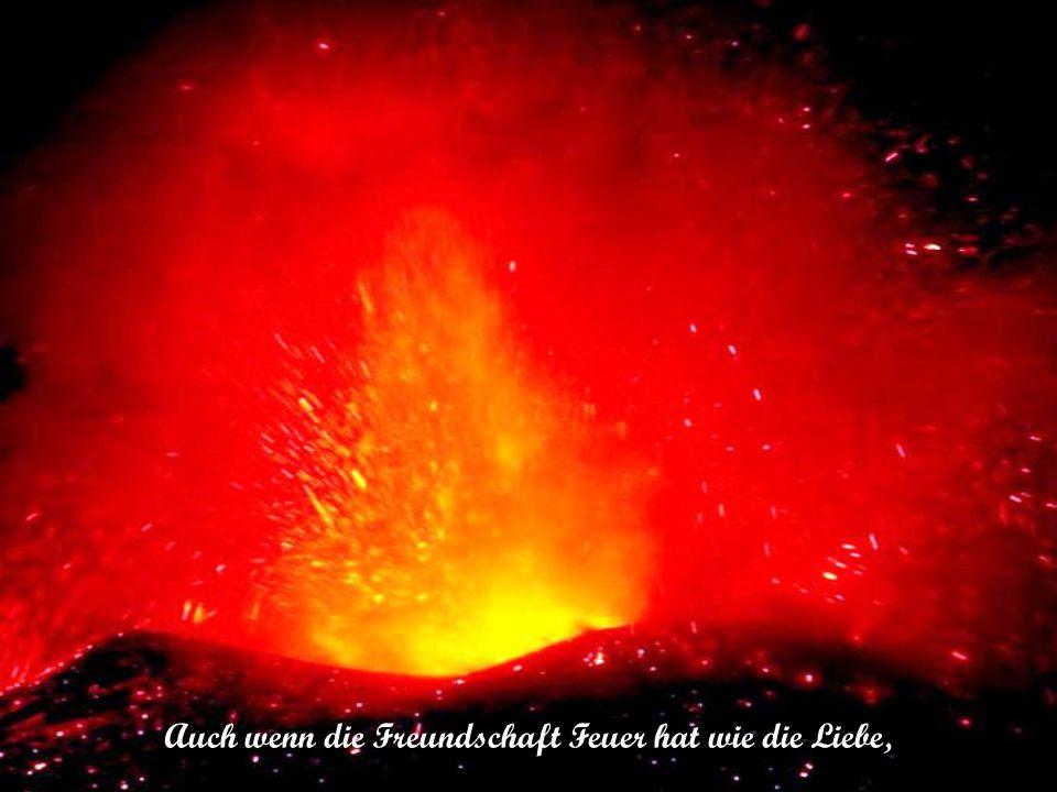 Wenn man Feuer mit Feuer bekämpft, bleibt gewöhnlich nur Asche übrig.