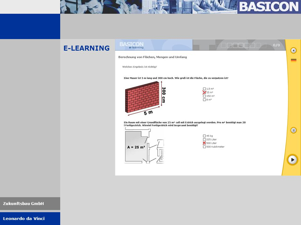 Leonardo da Vinci Zukunftsbau GmbH E-LEARNING