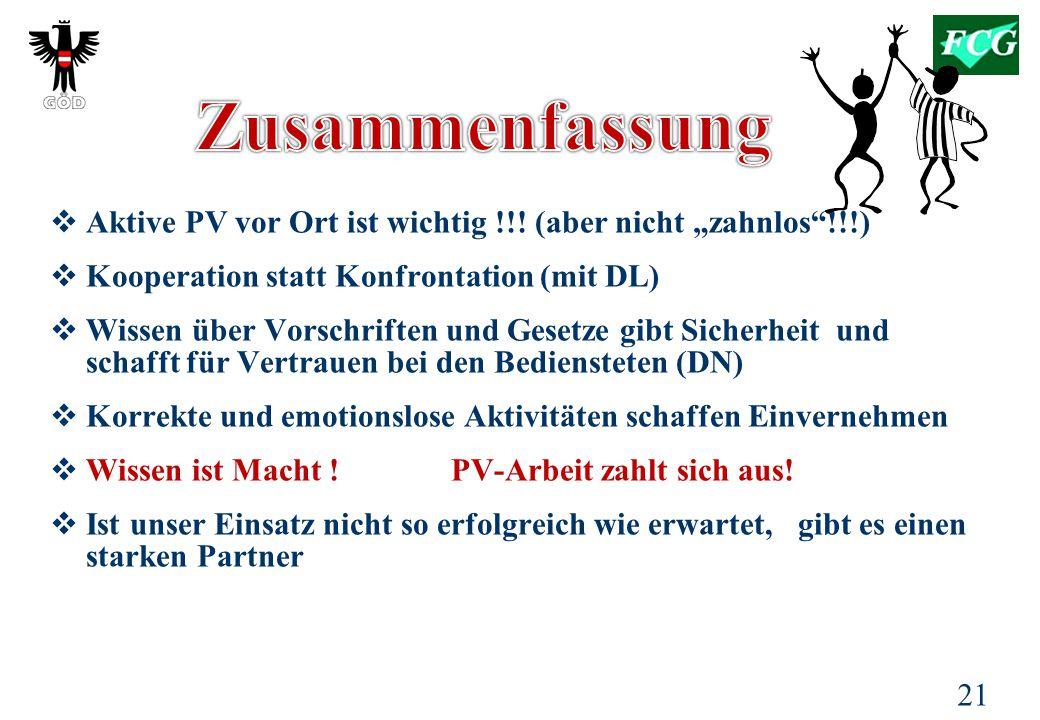 21  Aktive PV vor Ort ist wichtig !!.