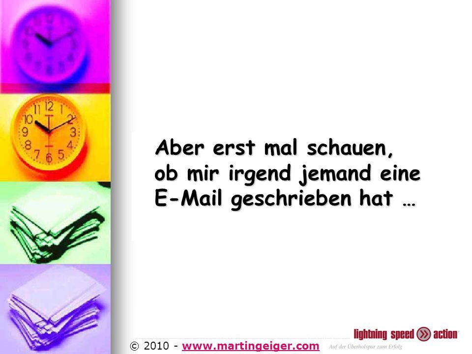 http://www.martingeiger.com/beschreibung_lisa.php4 © 2010 - www.martingeiger.comwww.martingeiger.com Aber erst mal schauen, ob mir irgend jemand eine E-Mail geschrieben hat …